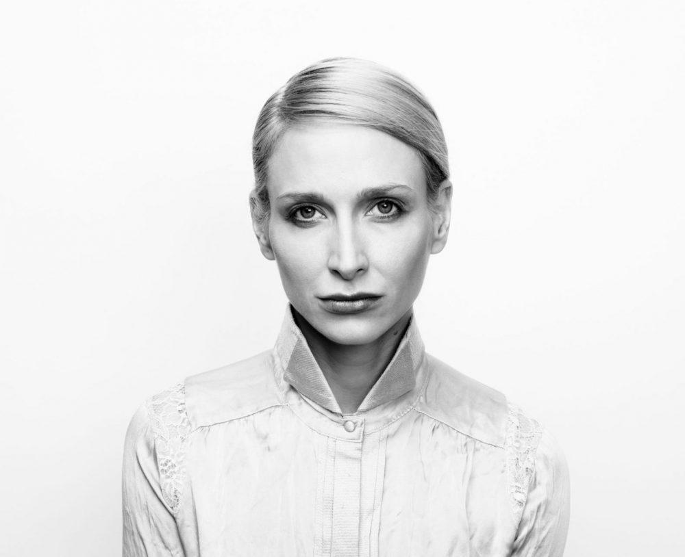 Anna-Eva Köck, eine der Schauspielerinnen
