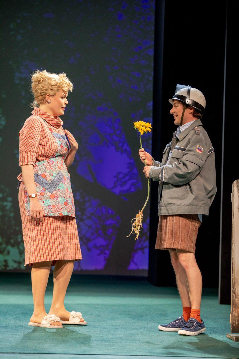 Szenenfoto aus Tom & Huck im Renaissancetheater/Theater der Jugend, Wien