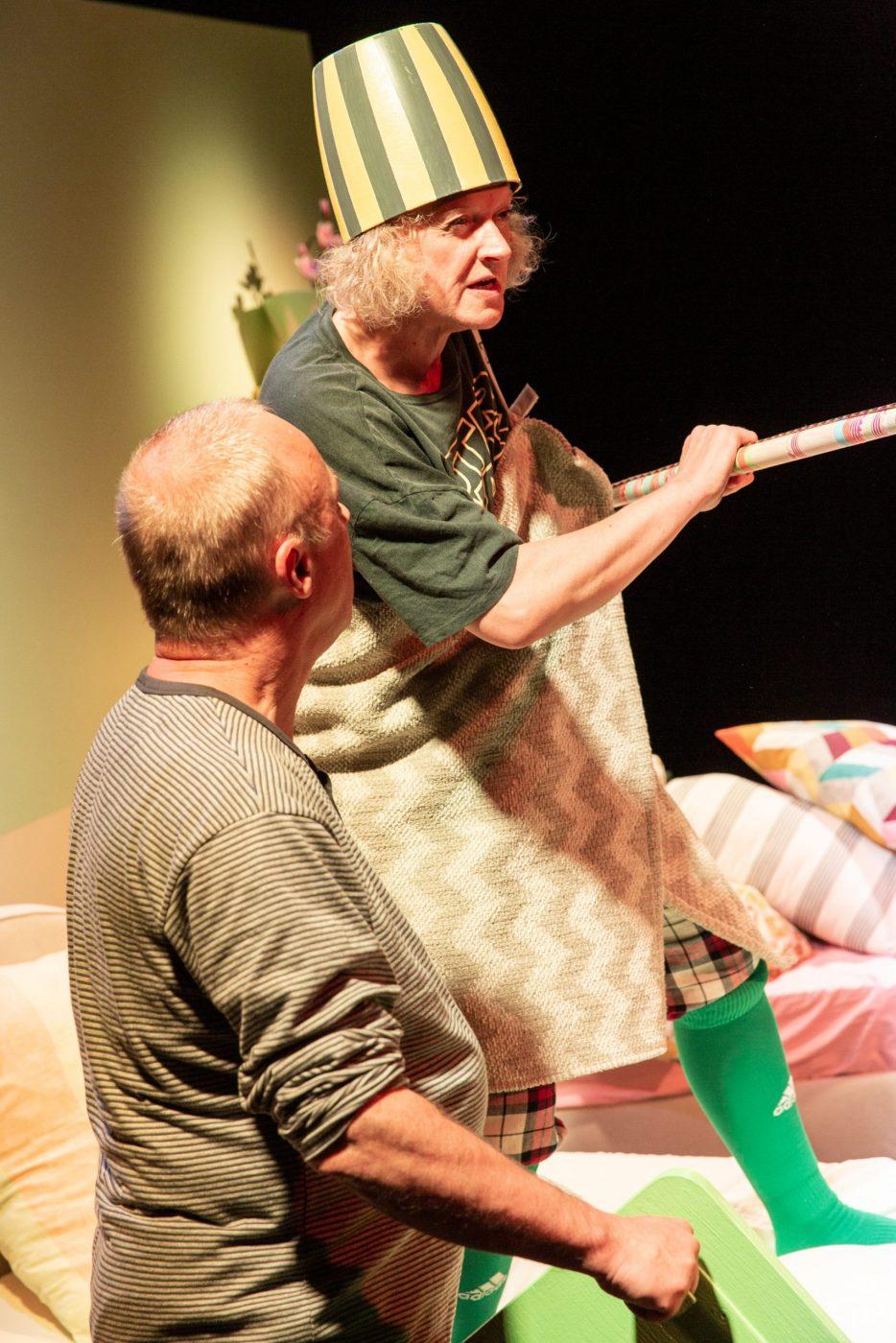 Szenenfoto aus Donna Quichotta vom Theater des Kindes in Linz