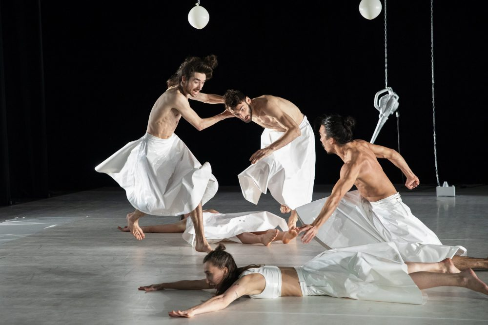 Szenenfoto aus dem Tanztheaterstück