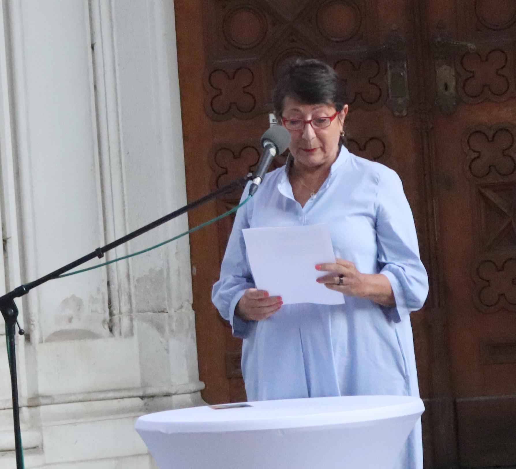 Vizepräsidentin der Israelitischen Kulturgemeinschaft, Claudia Prutscher