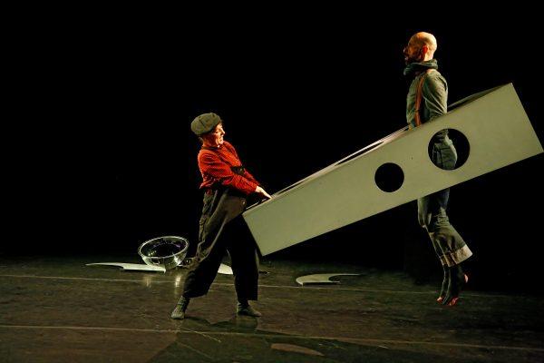 """Szenenfoto aus dem Theaterstück """"Eine fantastische Reise"""""""