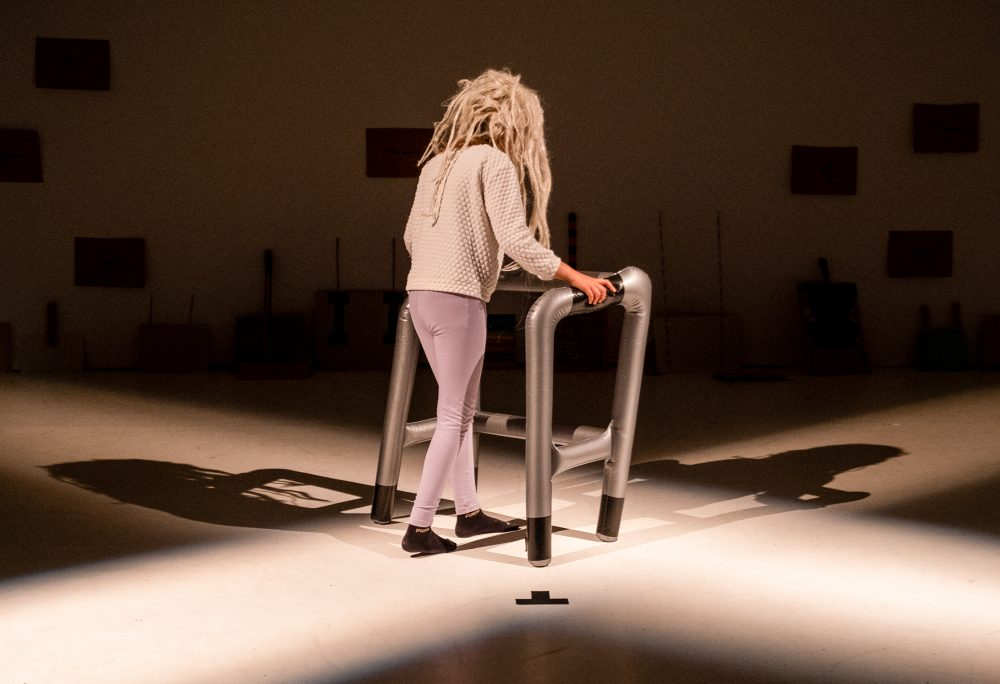 Szenenfoto aus der Performance