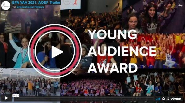 Screenshot aus dem Trailer zum Aufruf für den Jungen-Publikums-Preis