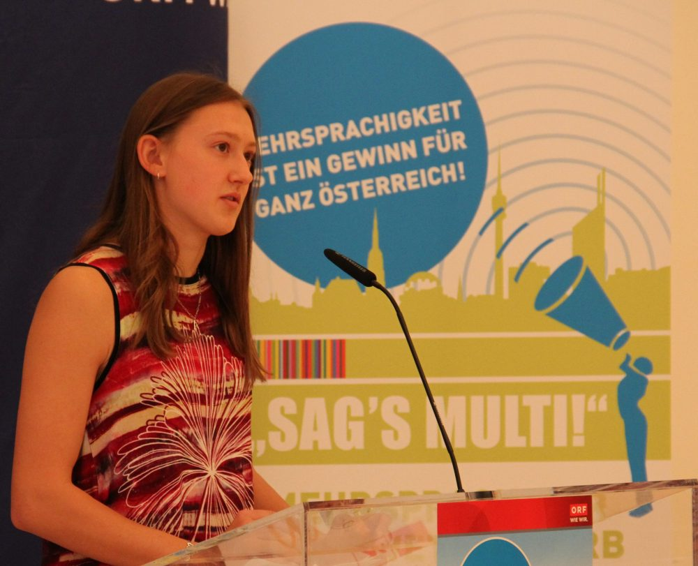 Rednerin Anja Dlauhy