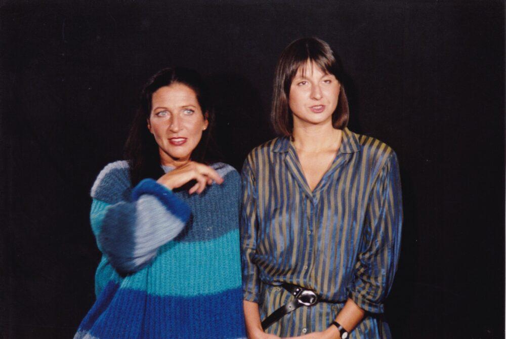 Das Kabarettistinnen-Duo Chin & Chilla