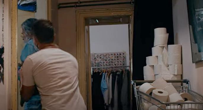 """Screenshot aus dem Musikvideo """"Gemeinsam gegen Corona"""""""