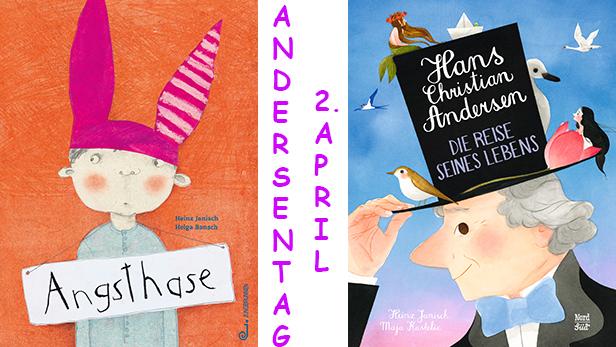 Die Titelseiten zweier Kinderbücher