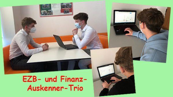 Bildmontage aus drei Fotos mit Jugendlichen und Laptops