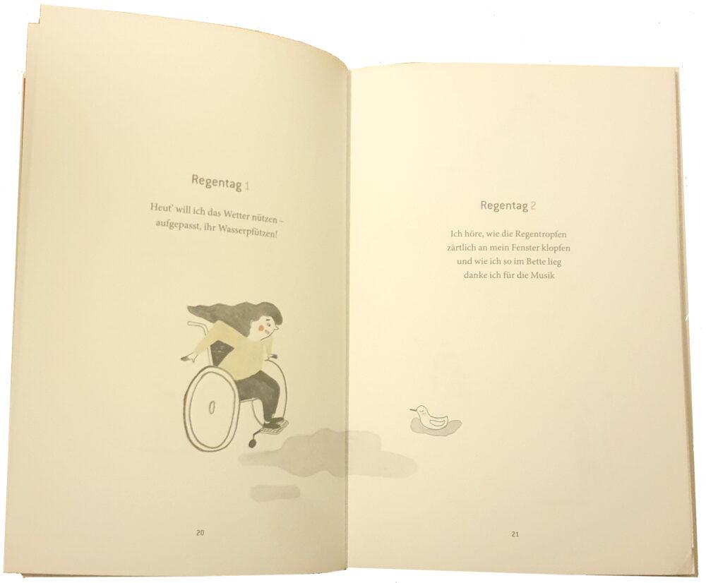 Doppelseite aus dem Buch