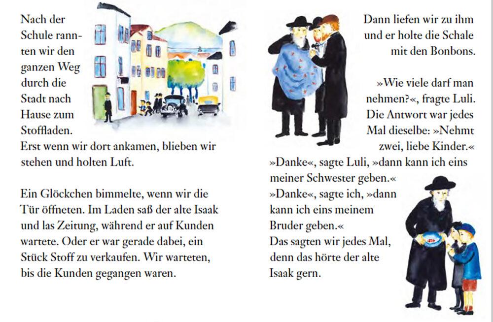 """Doppelseite aus dem Buch """"Zwei von jedem"""""""