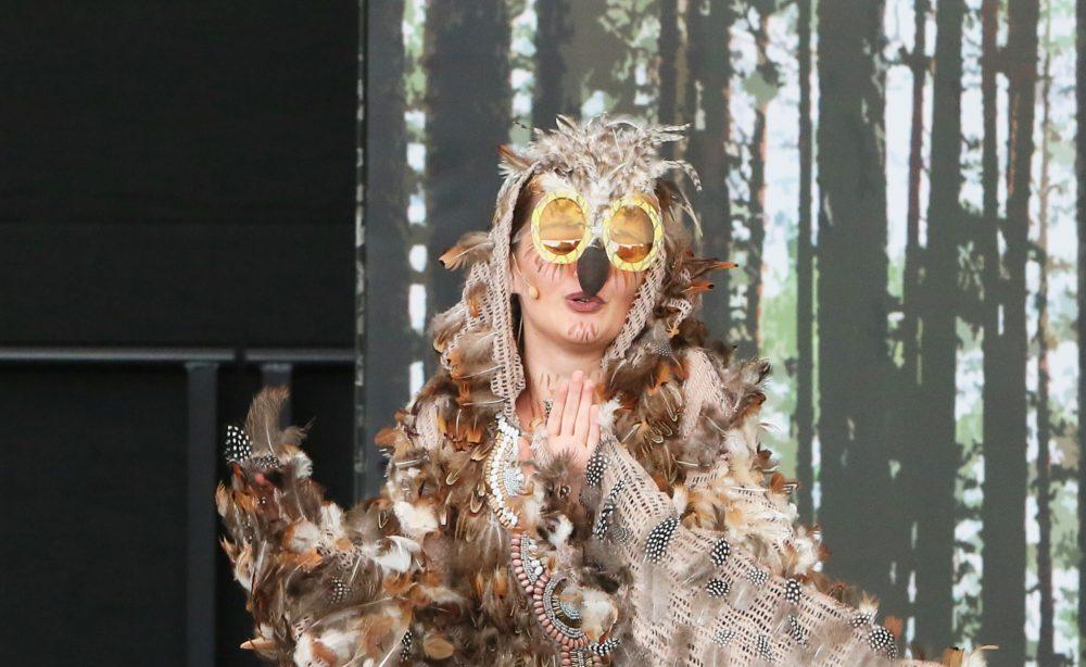 Yvonne Preisler als Eule