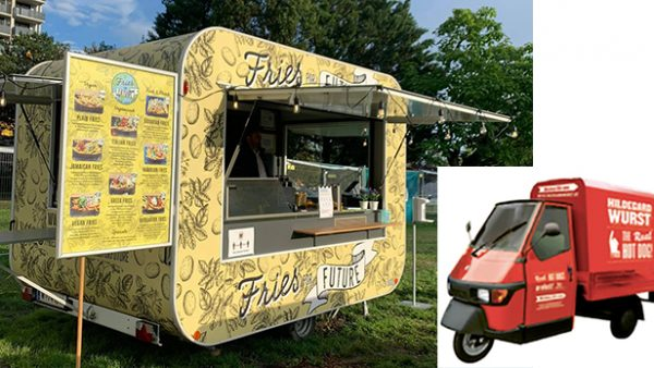 Foodtruck und Food-Moped