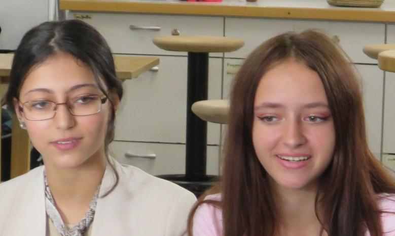 Mayar Dawoud und Jasmin Weinmüller