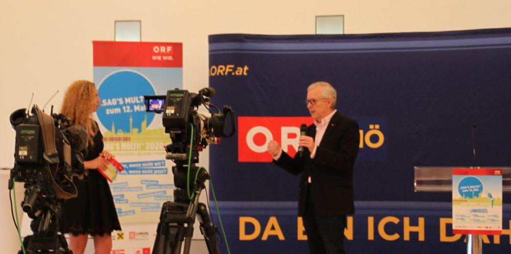 ORF-NÖ-Chef Norbert Gollinger