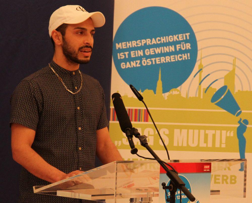 Redner Gul Ahmad Salimi
