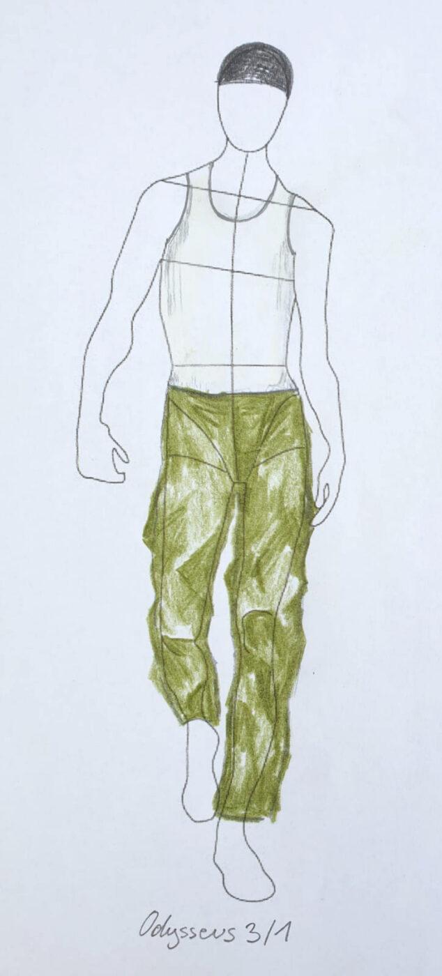 Kostüm-Skizzen