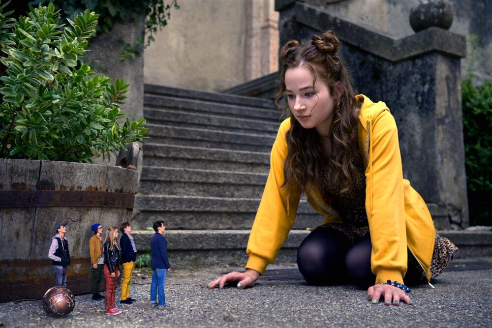 """Szenenfoto aus dem Kinofilm """"Hilfe, ich habe meine Freunde geschrumpft"""""""