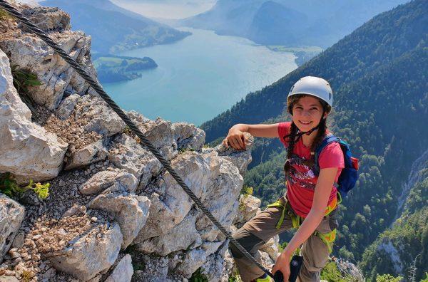 Klettern ist eines der vielen Hobbys von Jolanda Hofer