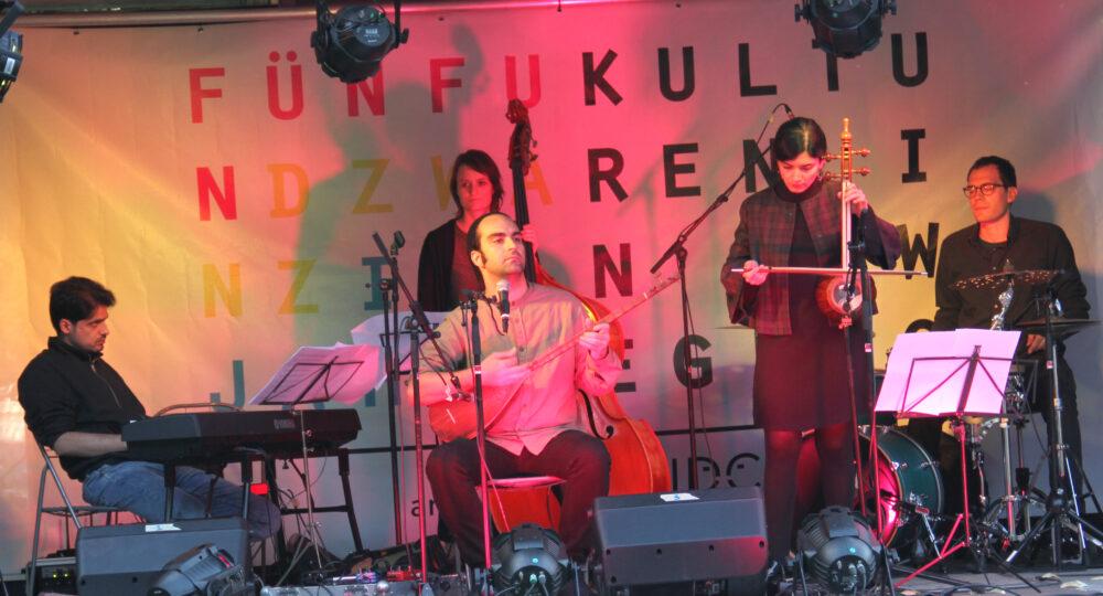Kurdophone - Kurdisch-iranische Volksmusik mit Jazz und Klassik