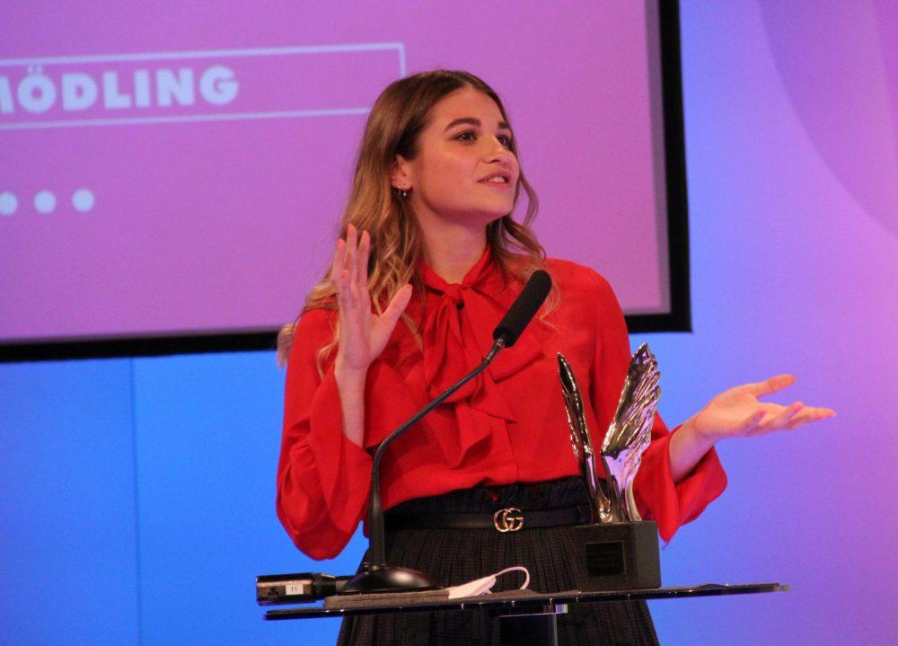 Siegerin des Online-Vtings: Lea Krammer, Schülerin der VBS Mödling