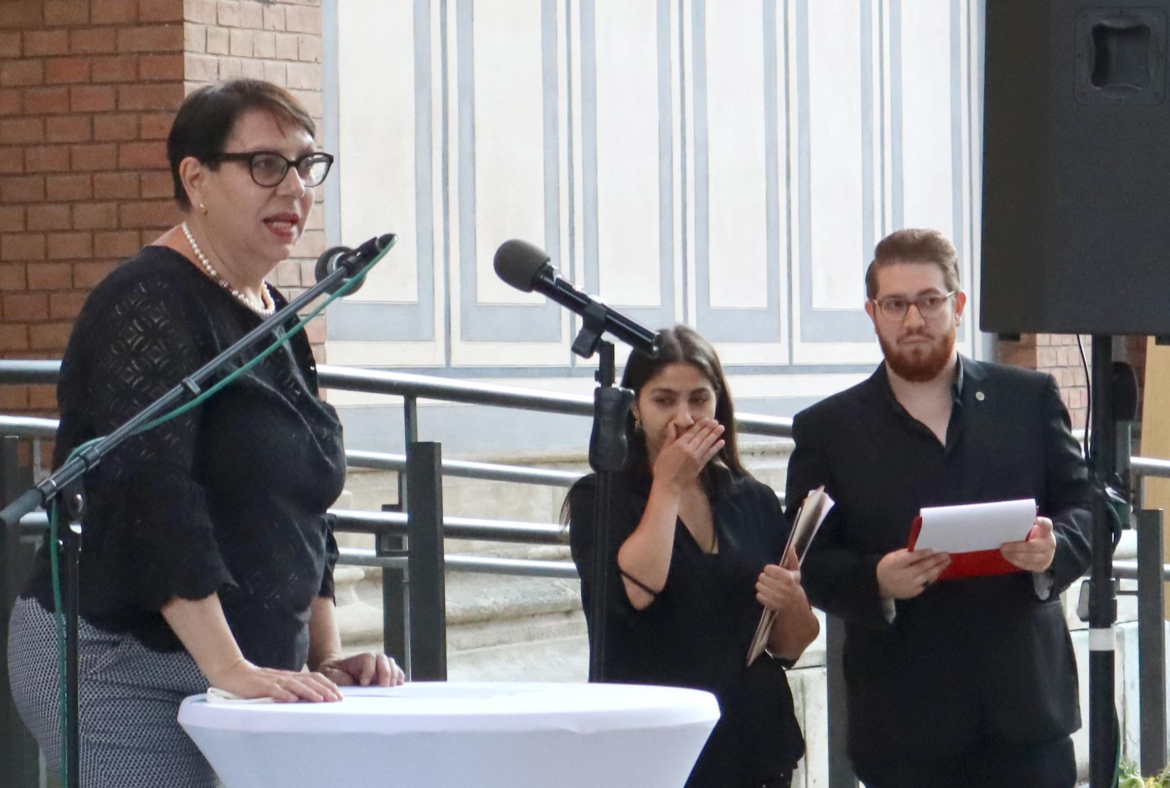 Marion Dworzack, Vize-Obfrau von Voice of Diversity