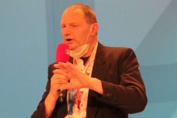 Gerhard Bürscher, einer der drei Hauptpreisträger:innen