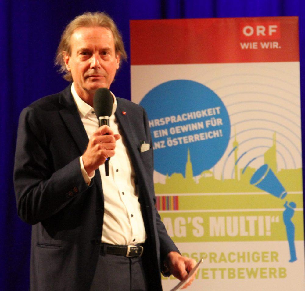 Ö1-Programm-Chef Martin Bernhofer