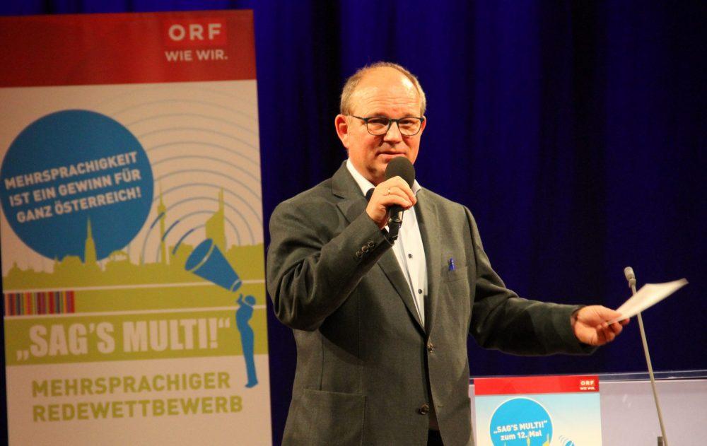 Jury-Vorsitzender Peter Wesely