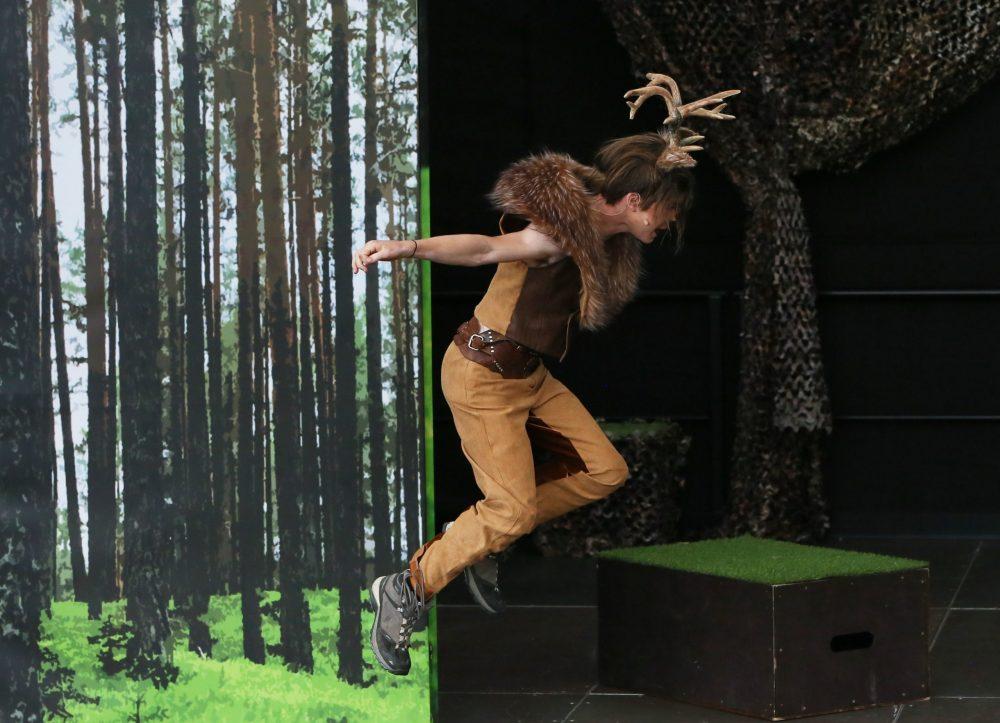 Tobias Hornik-Steppan spielt Junghirsch Ronno