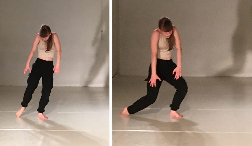 Greta Haider tanzt seit einem Jahr neben Ballett auch zeitgenössisch