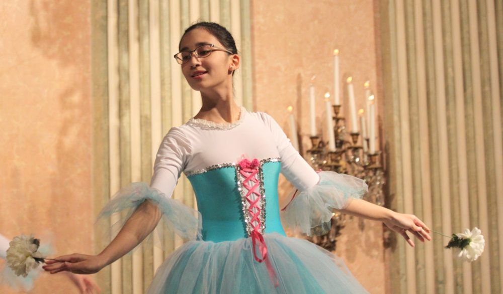 Saida Alimdjanova als Balletttänzerin