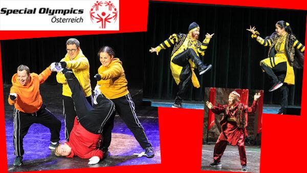 Montage von drei Fotos der erfolgreichen Tänzer:innen