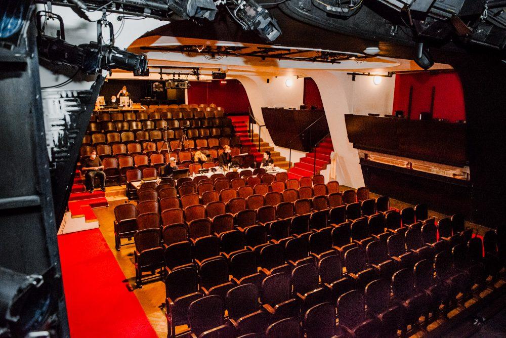Hoffentlich nicht mehr lange: Leerer Theatersaal