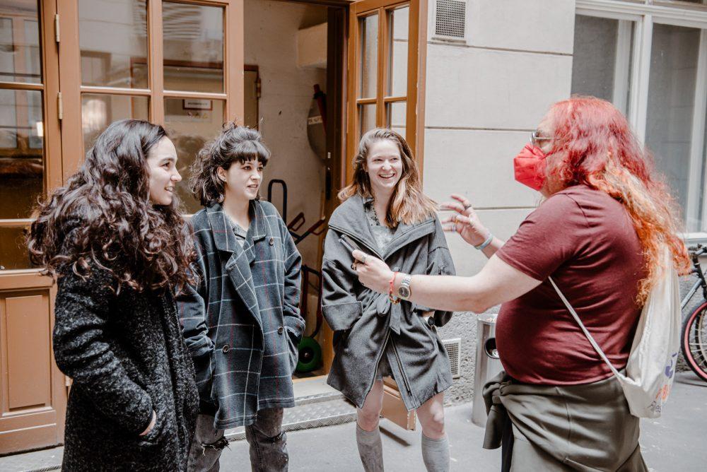 Interview mit den drei Schauspielerinnen