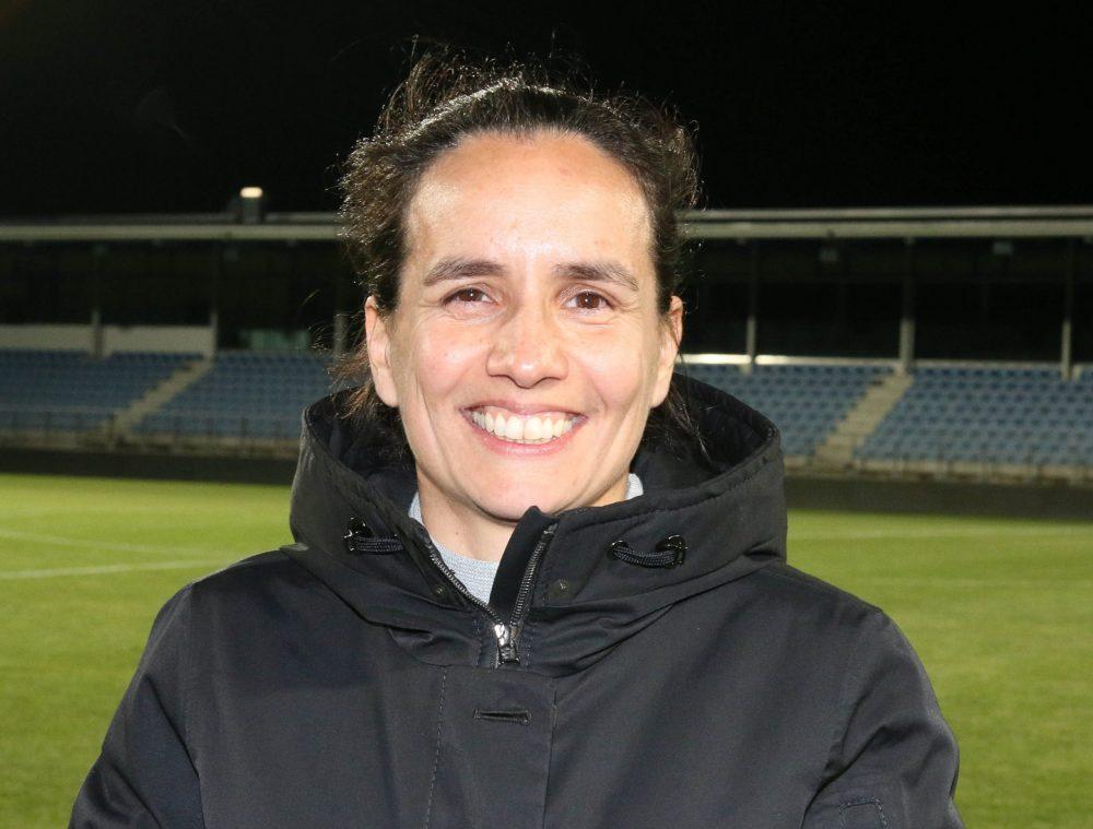 Nationalteam-Trainierin Irene Fuhrmann