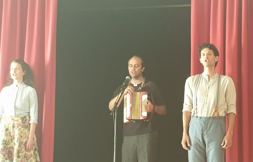 Szenenfoto aus dem Stationentheater