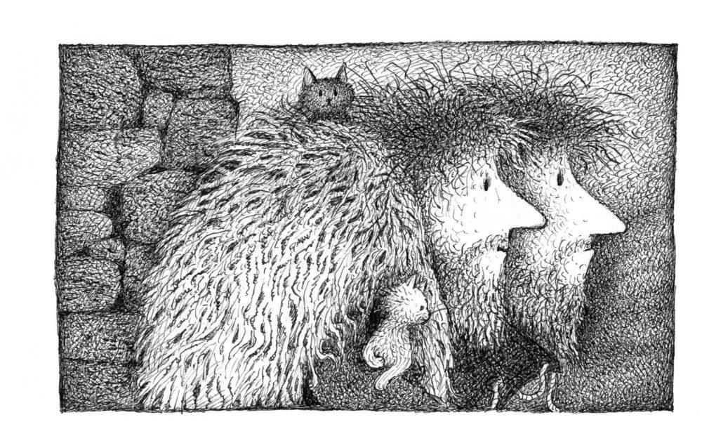 Illustrationen aus dem Bilderbuch