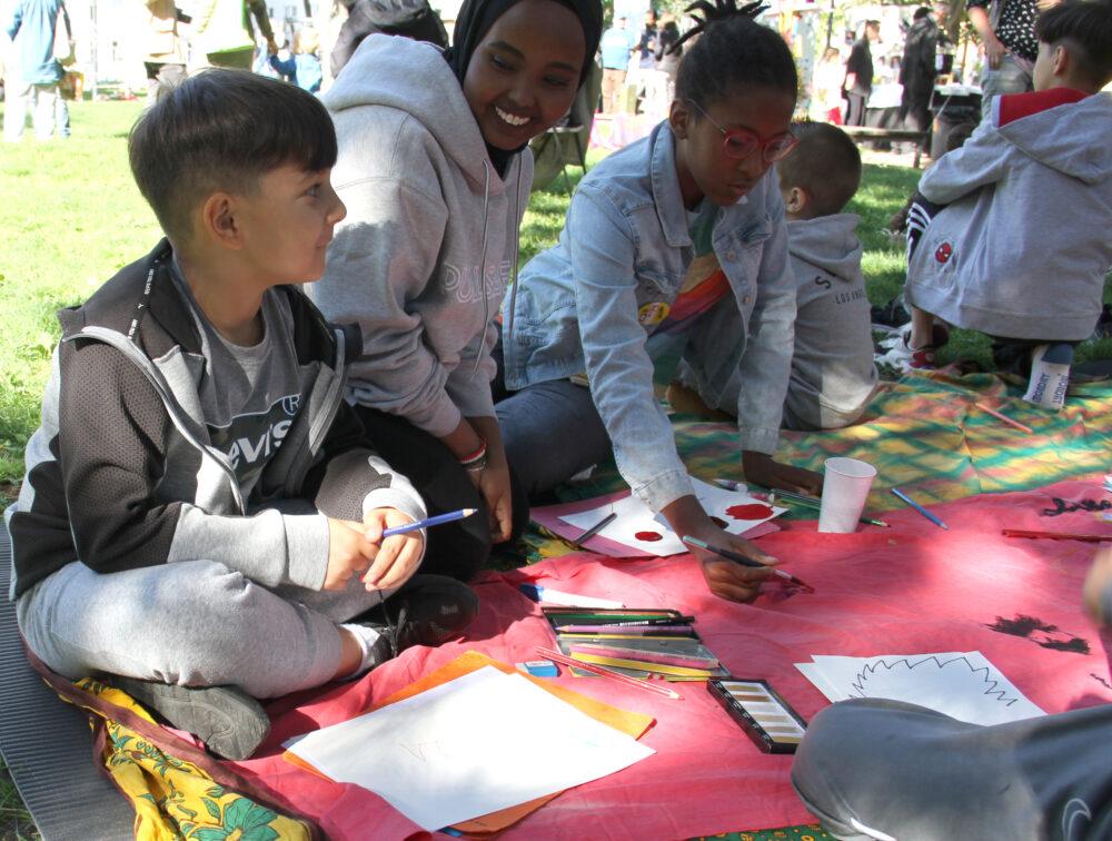Kinder und Jugendliche zeichnen und malen - oft im Comic-Stil